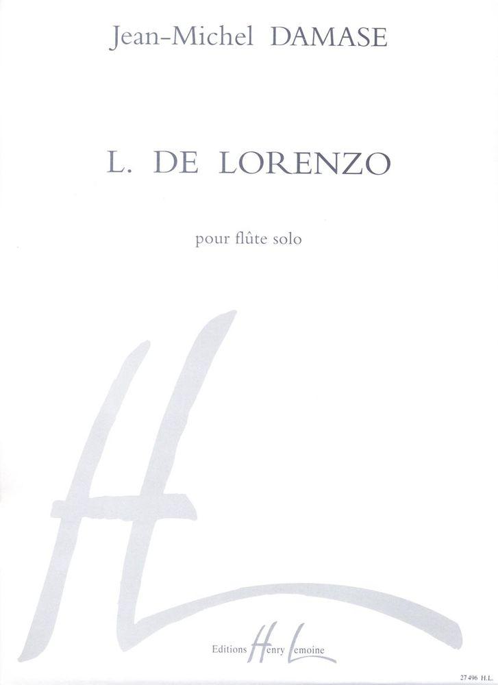Damase Jean-michel - L. De Lorenzo - Flute Solo