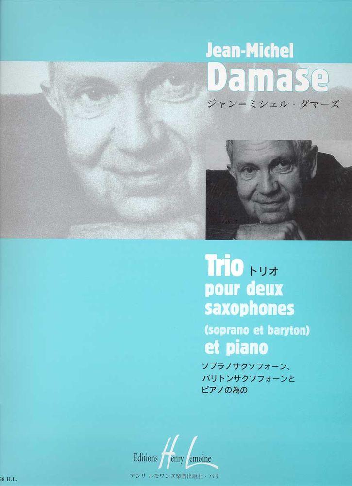 Damase Jean-michel - Trio - 2 Saxophones (sbar), Piano