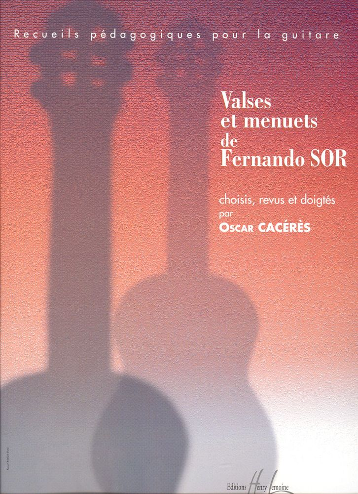 Sor Fernando - Valses Et Menuets - Guitare