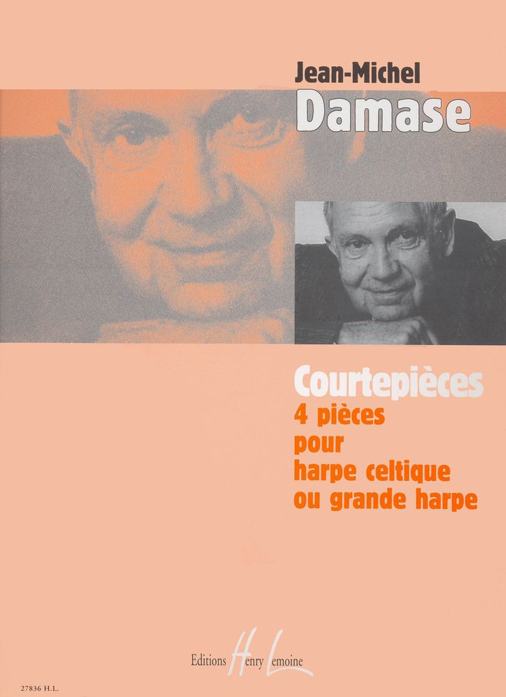 Damase Jean-michel - Courtepièces - Harpe