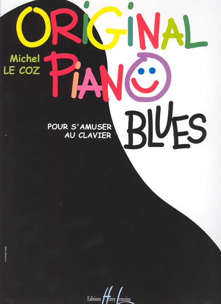 Le Coz Michel - Original Piano Blues - Piano