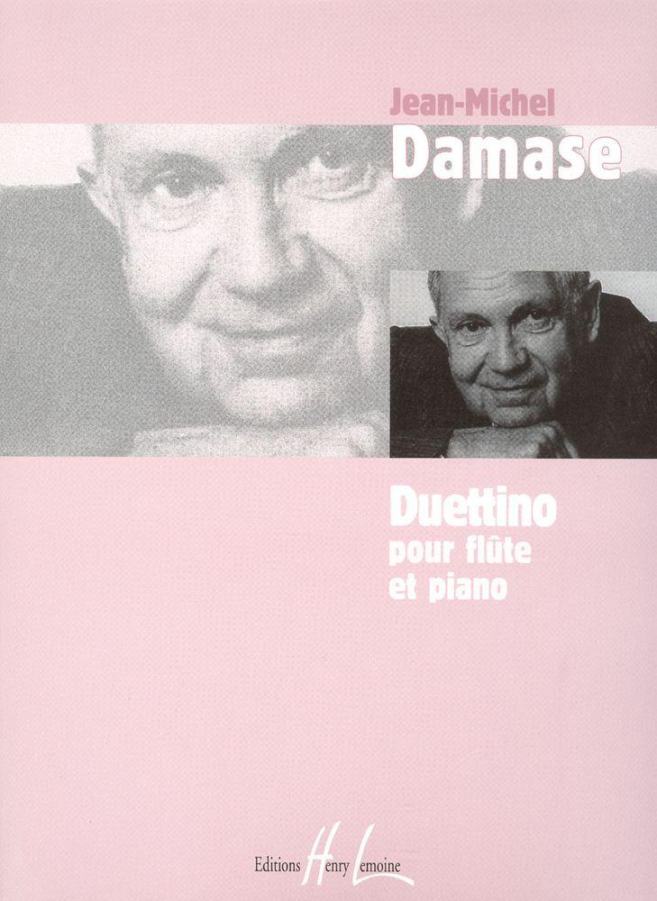 Damase Jean-michel - Duettino - Flute, Piano