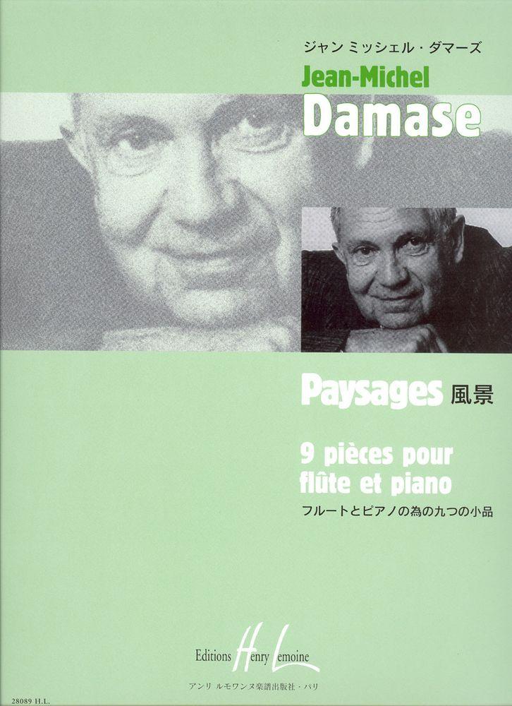 Damase Jean-michel - Paysages - Flute, Piano