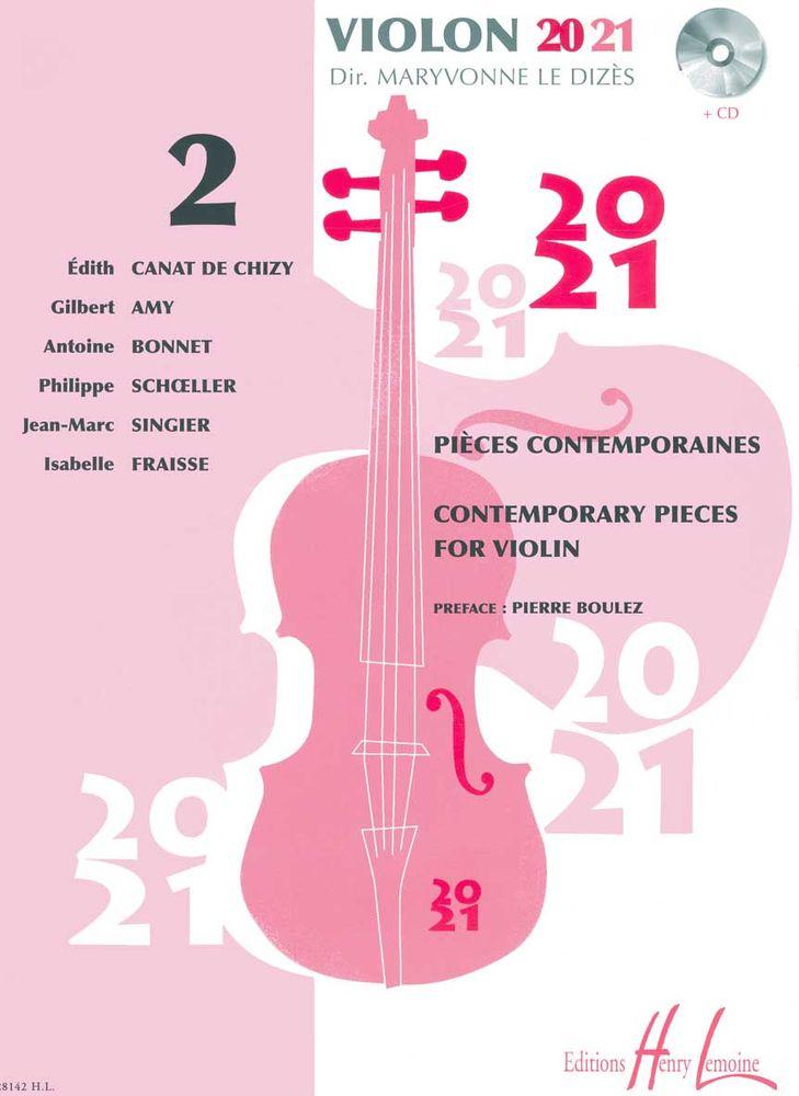 Le Dizes Maryvonne - Violon 20-21 Vol.2 + Cd - Violon