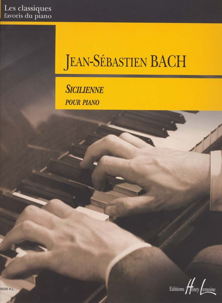 BACH J.S. - SICILIENNE - PIANO