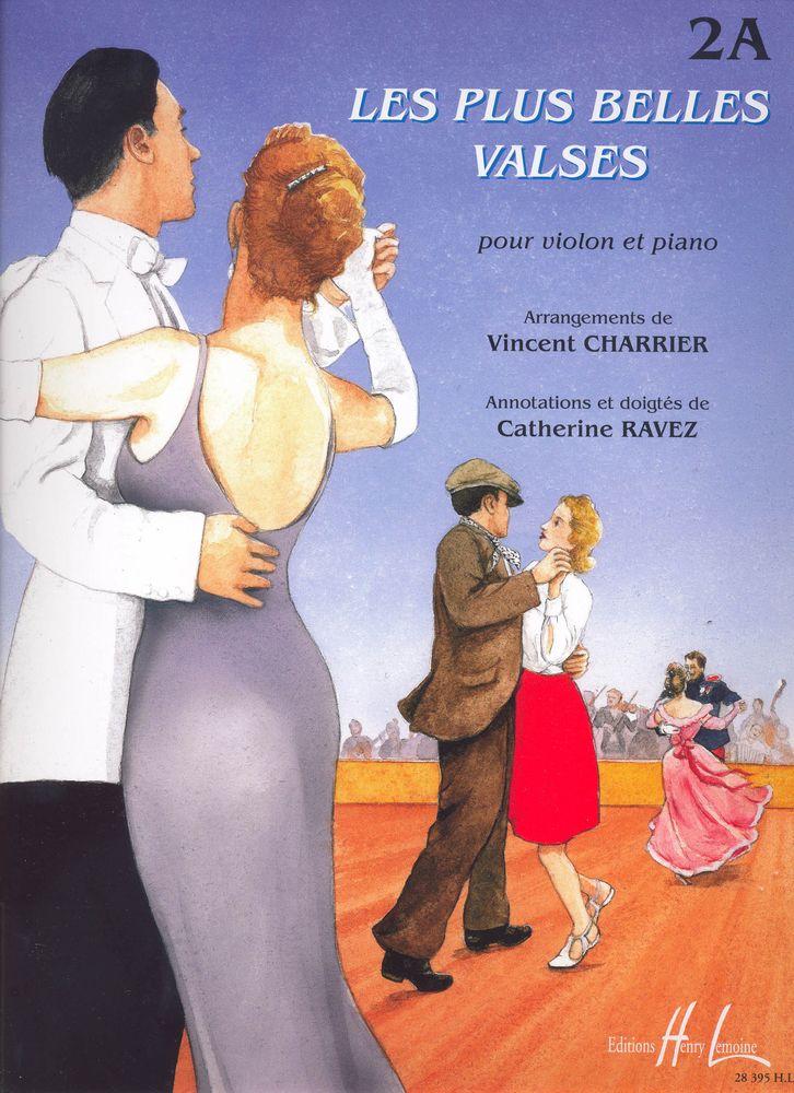 Charrier V./ Ravez C. - Les Plus Belles Valses Vol.2a - Violon, Piano