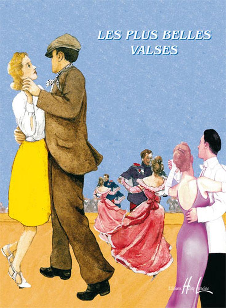 Charrier V. / Ravez P. - Les Plus Belles Valses Vol.1a - Flute, Piano