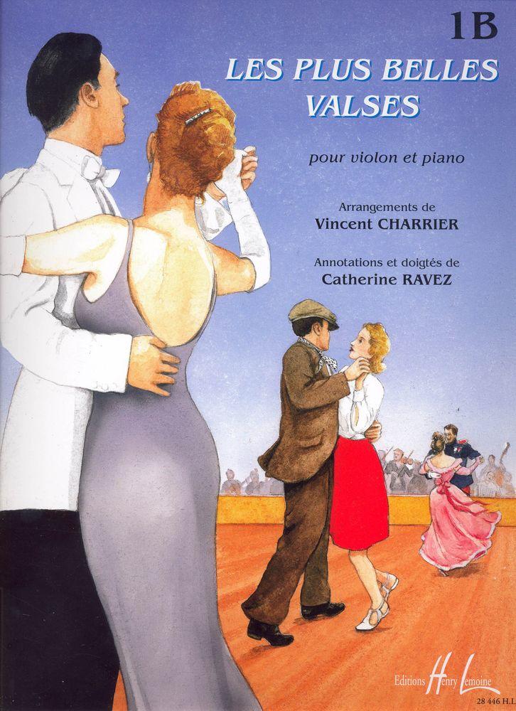 Charrier V./ Ravez C. - Les Plus Belles Valses Vol.1b - Violon, Piano
