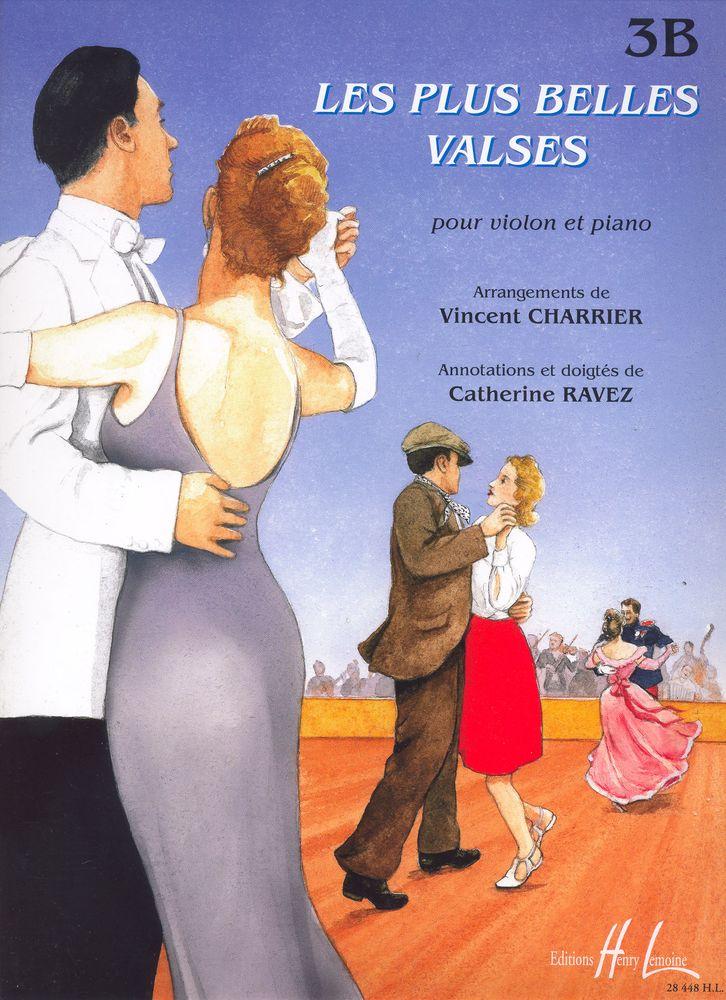 Charrier V./ Ravez C. - Les Plus Belles Valses Vol.3b - Violon, Piano