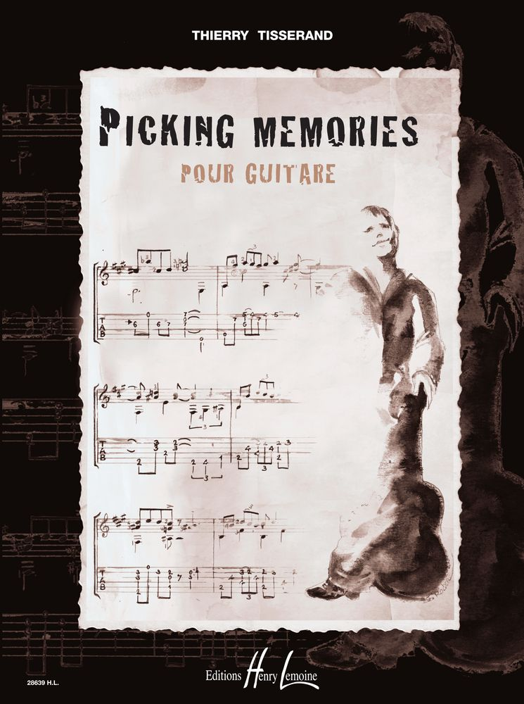 Tisserand Thierry - Picking Memories - Guitare