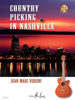 Versini Jean-marc - Country Picking In Nashville + Cd - Guitare