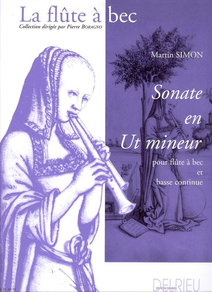 Simon Martin - Sonate En Ut Min. - Flute A Bec