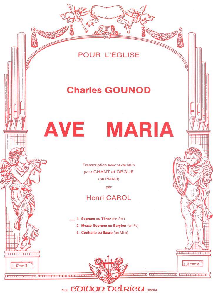Ave Maria Aznavour Partition Gratuite