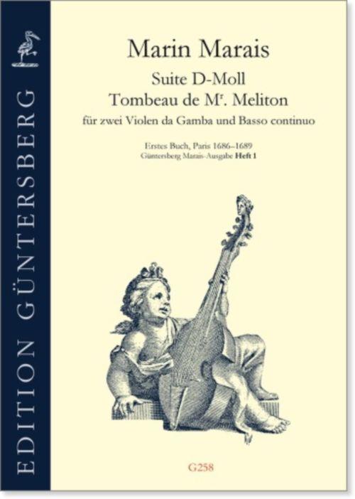 Marin Marais - Suite D-moll Tombeau De  Monsieur Meliton - Viole De Gambe