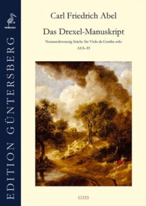 Abel C.f. - The Drexler Manuscript - Viole De Gambe