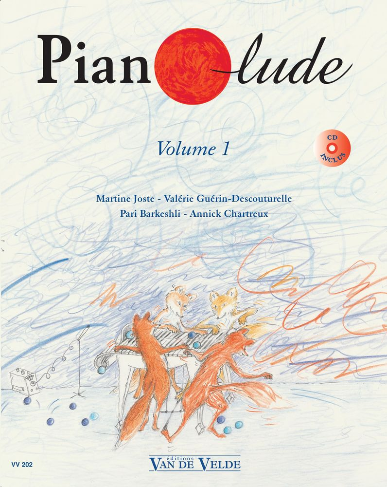 PIANOLUDE VOL.1 + CD