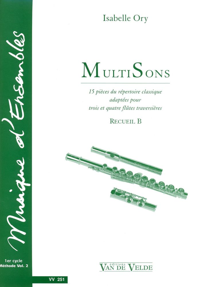 Ory Isabelle - Multisons Vol.b - 3 A 4 Flutes