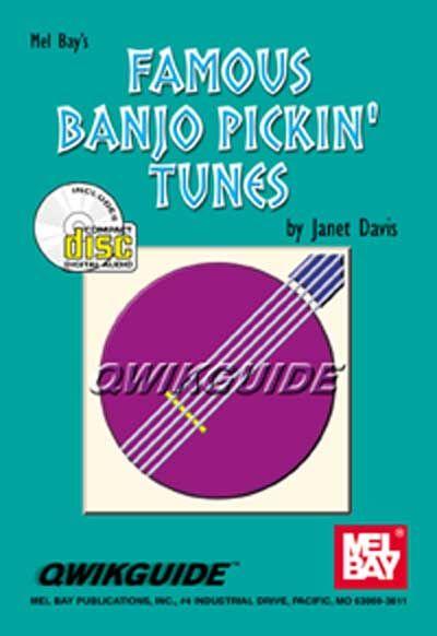 Davis Janet - Famous Banjo Pickin' Tunes Qwikguide + Cd - Banjo