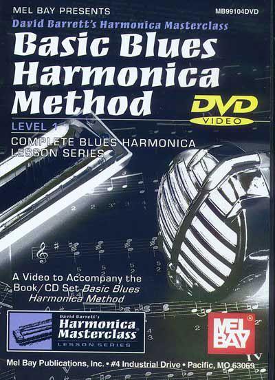 Barrett David - Basic Blues Harmonica Method - Harmonica
