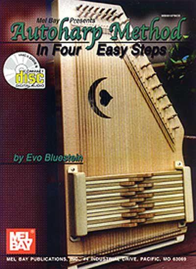 Bluestein Evo - Autoharp Method - In Four Easy Steps + Cd - Harp
