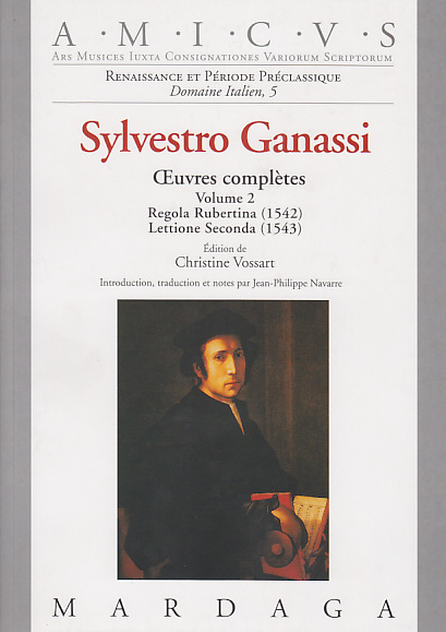 GANASSI SYLVESTRO - OEUVRES COMPLETES (VOL. 2)