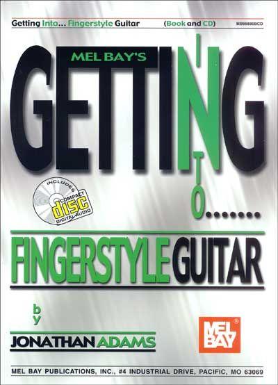 Adams Jonathan - Getting Into Fingerstyle Guitar + Cd - Guitar