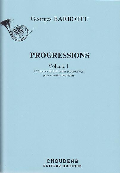 Barboteu Georges - Progressions Vol.1 - Cor