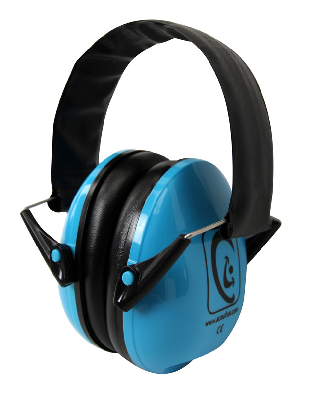 EARFUN KID ATTENUATING HEADPHONES - BLUE