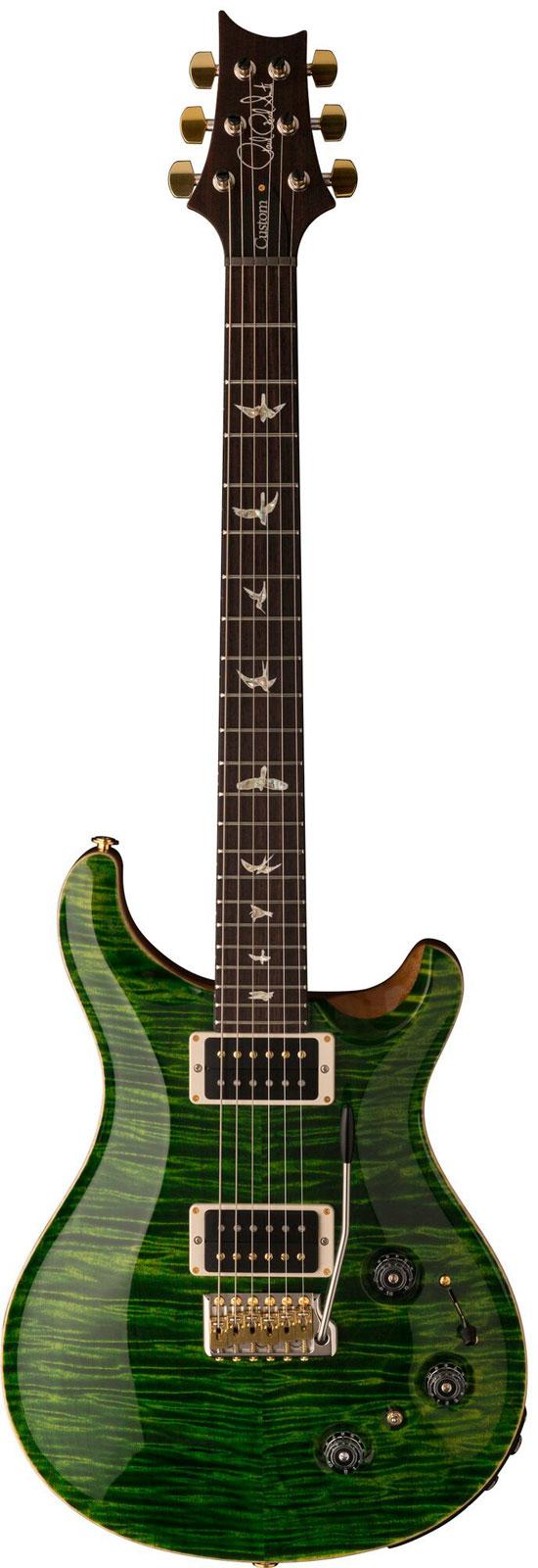Prs - Paul Reed Smith Custom 24 Piezo Emerald 2017