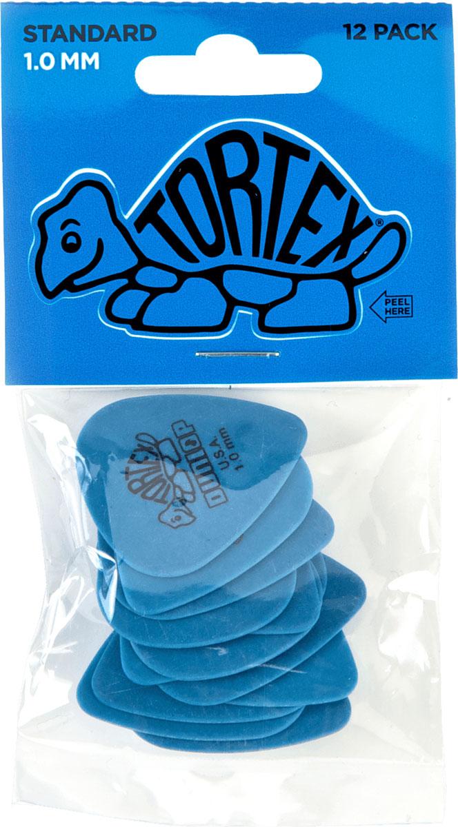 Dunlop 418p100 Pack 12 Tortex Standard 1 Mm