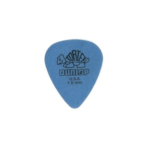 Dunlop Mediator Tortex 1.00mm Bleu