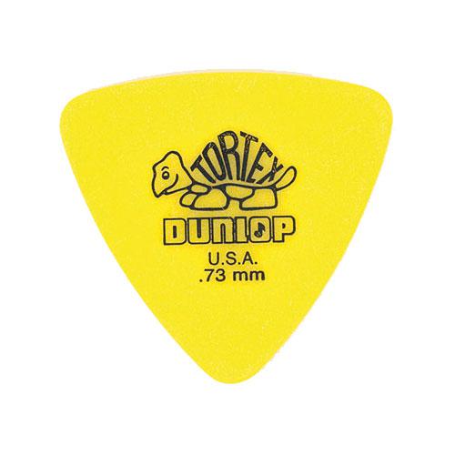 Dunlop Adu 431p73  -  Triangle Tortex Players Pack - 0,73 Mm (par 6)