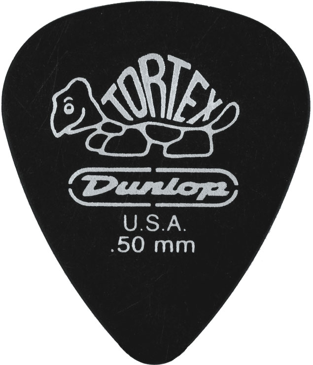 Dunlop Adu 488r50  -  Tortex Pitch Noir Players Pack - 0,50 Mm (a L