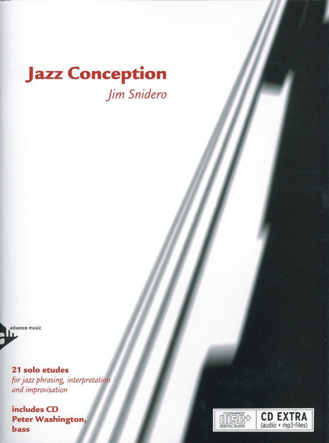 Snidero J. - Jazz Conception For Bass + Cd