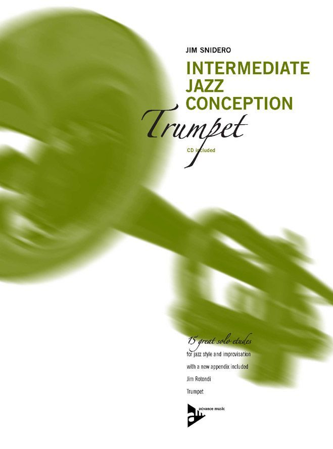 Snidero Jim - Intermediate Jazz Conception + Cd - Trumpet