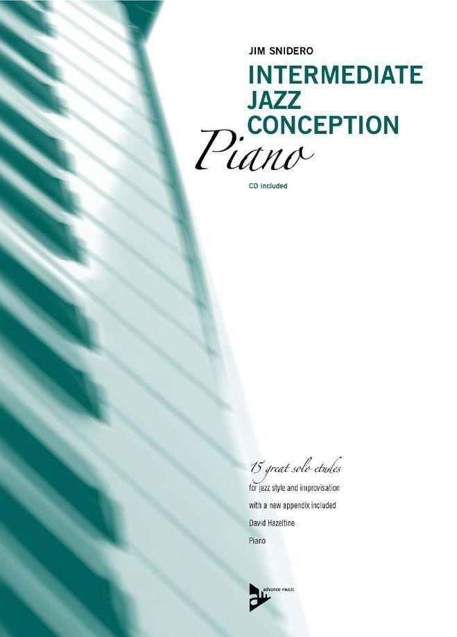 Snidero J. - Intermediate Jazz Conception Piano - Piano
