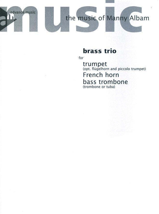 Albam M. - Brass Trio - Trumpet, French Horn And Bass Trombone - Brass Instruments