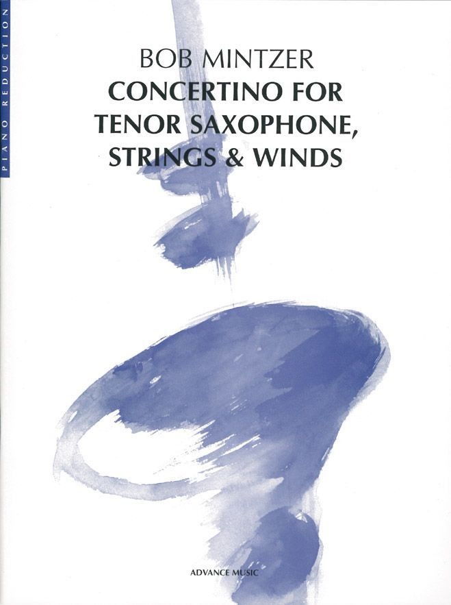 Mintzer B. - Concertino - Saxophone (t/a), Strings And Wind Instruments