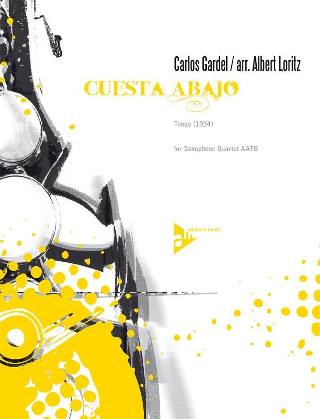 Gardel C. - Cuesta Abajo - 4 Saxophones (aatbar)