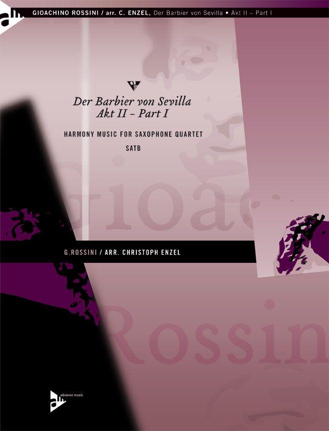 Rossini G. - Der Barbier Von Sevilla - 4 Saxophones (satb)