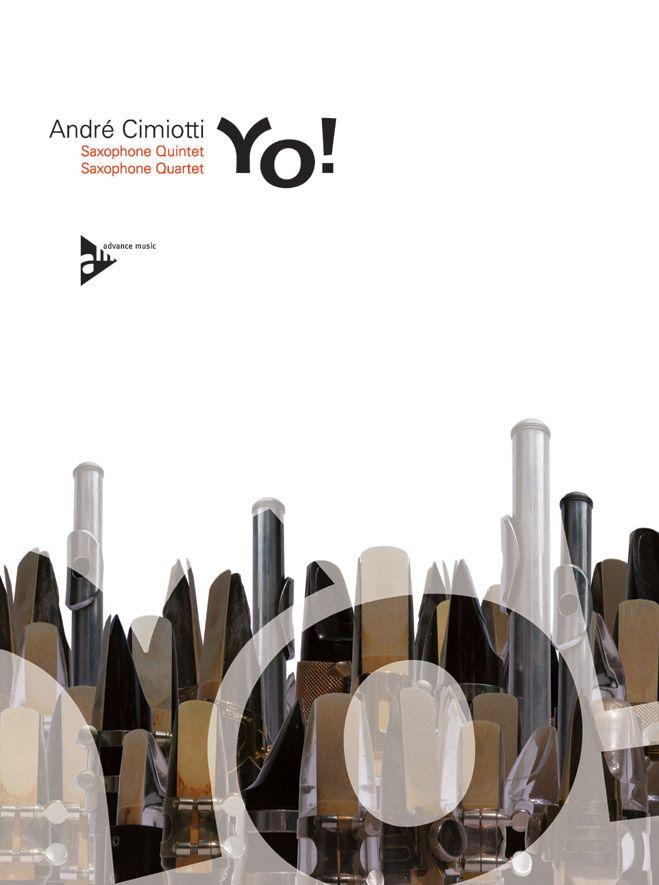 Cimiotti A. - Yo! - 4-5 Saxophones (a(s)attb)