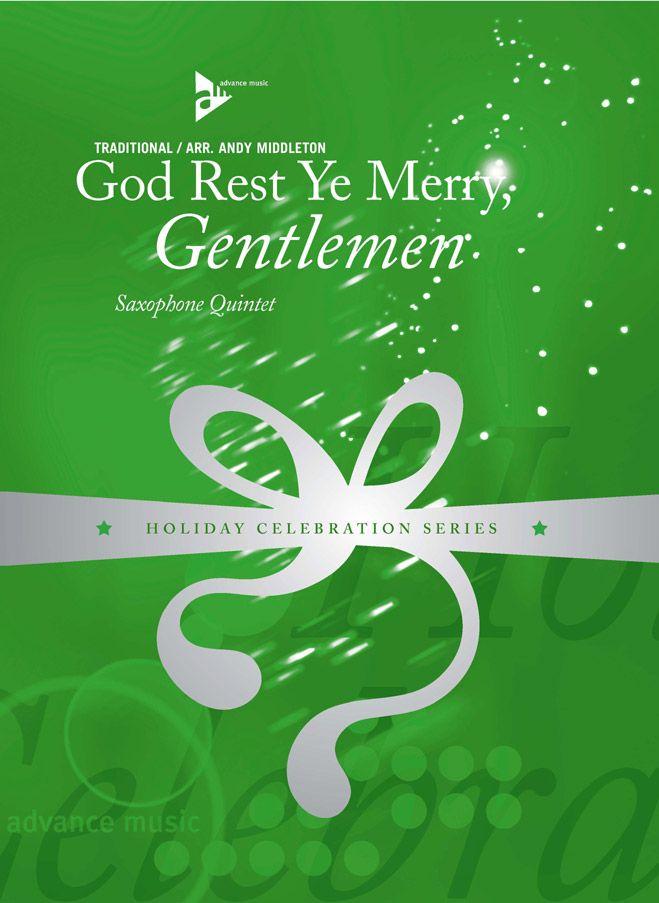 Middleton A. - God Rest Ye Merry, Gentlemen - 5 Saxophones (aattbar)