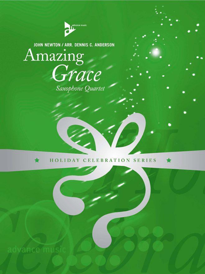 Newton J. - Amazing Grace - 4 Saxophones (satb)