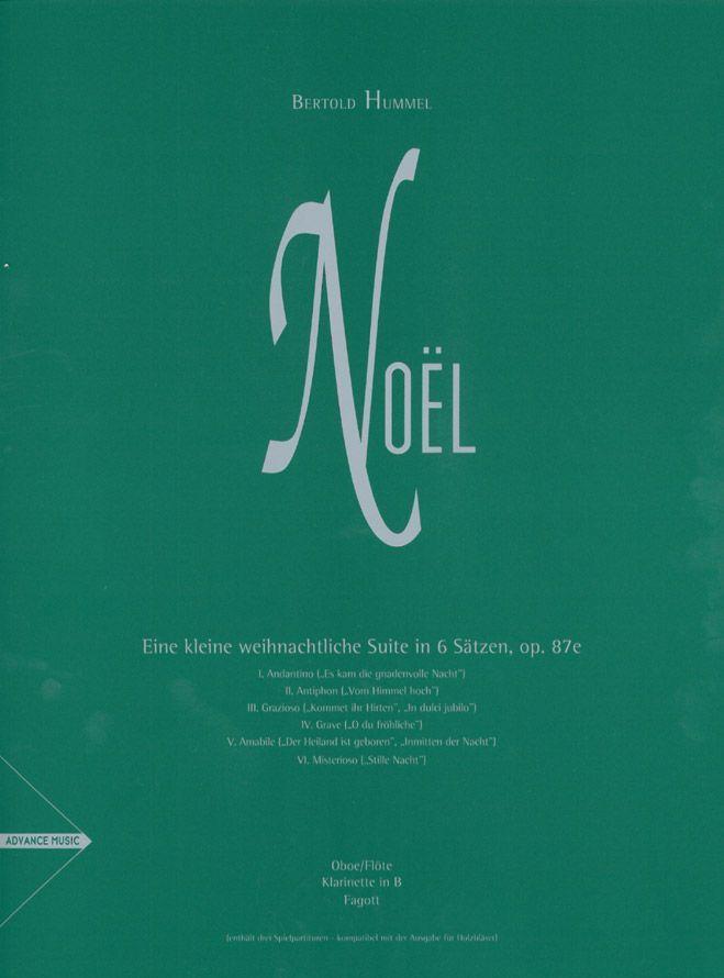 Hummel B. - Noel - Woodwinds (oboe/flute, Clarinet In Bb, Bassoon)