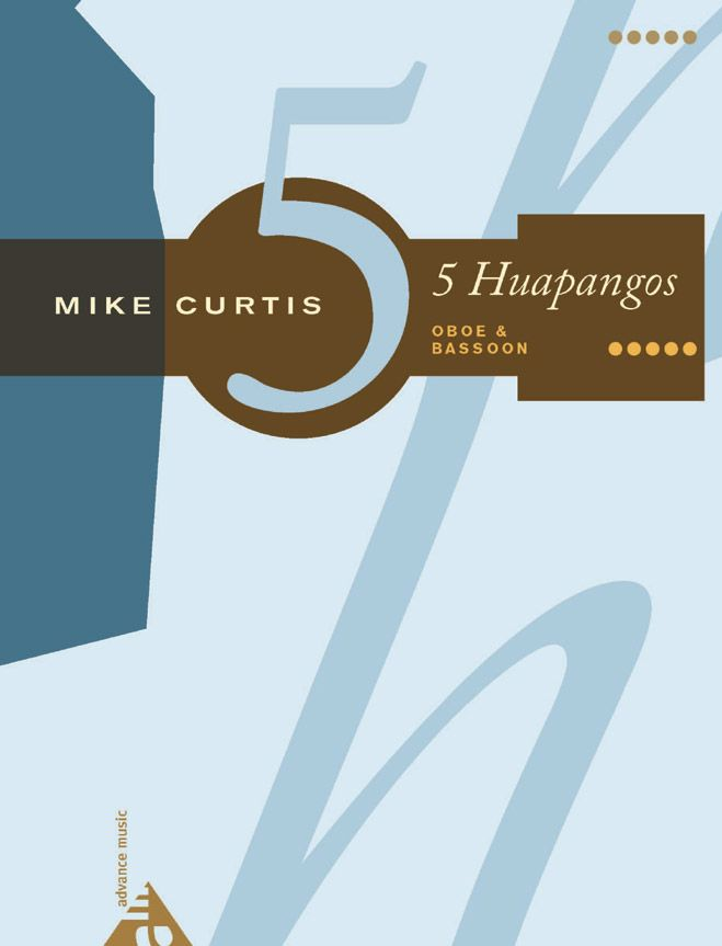 Curtis M. - 5 Huapangos - Oboe And Bassoon