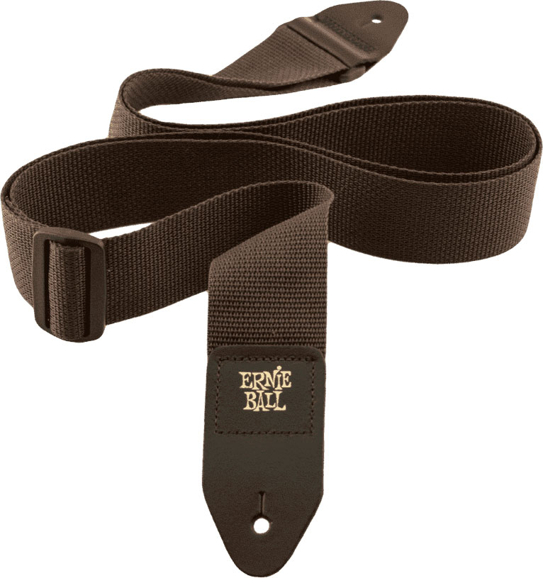 BROWN POLYPRO GUITAR STRAP