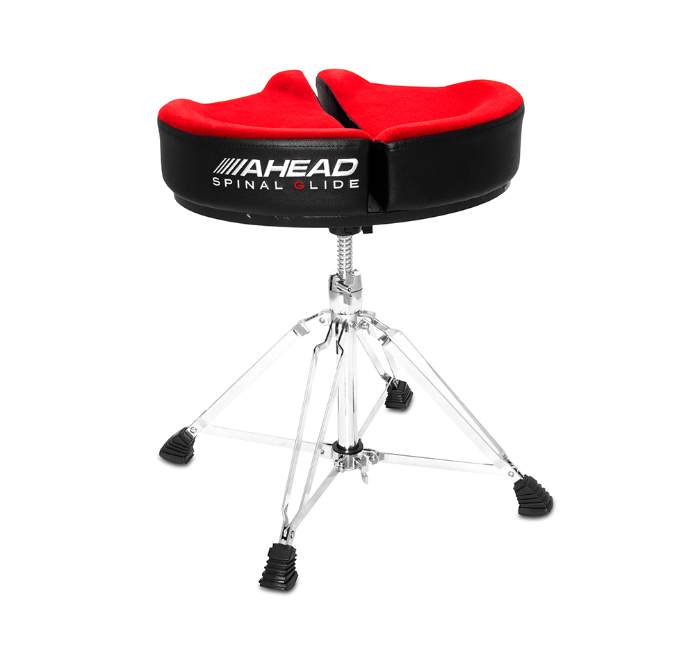 SPG-R-4 DRUM THRONE SPINAL-G RED - 4 LEG BASE