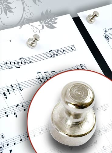 SET OF 4 MAGNETS MUSIC ACCESSORIES FOR SCORES
