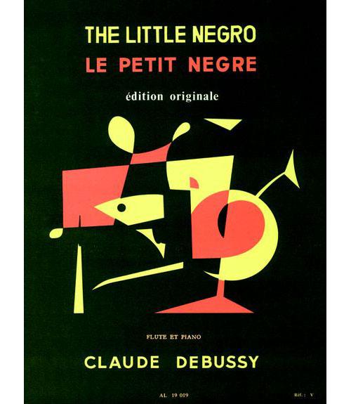 Debussy Claude - Le Petit Negre - Flute, Piano