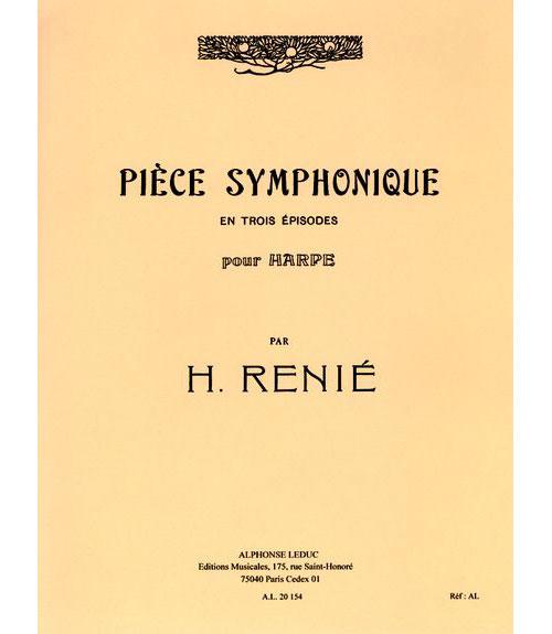 Renie H. - Pieces Symphonique En Trois Episodes - Harpe